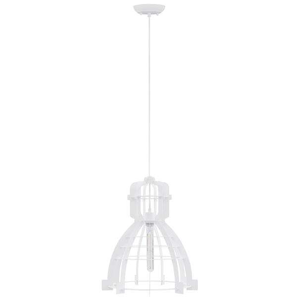 Industrial Pendant Light - White