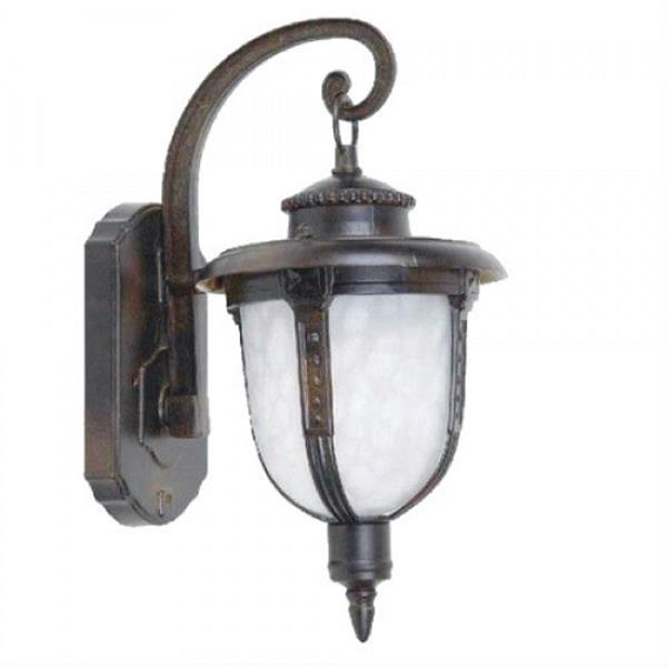 6.5 Fluorescent Exterior Sconce - Brown