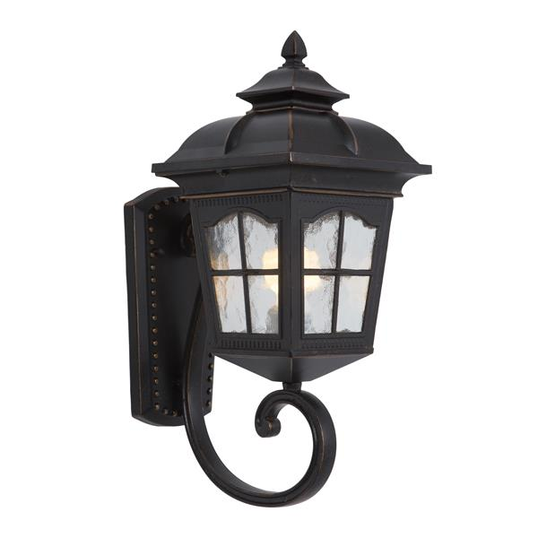 One Light Fluorescent Exterior - Oil-Rubbed Bronze