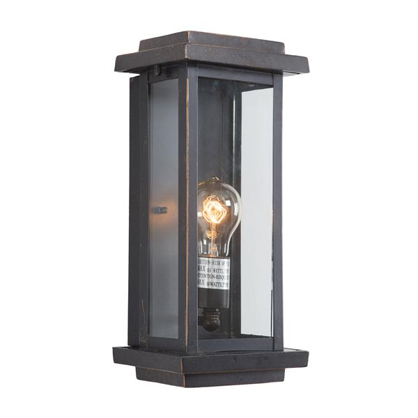 One  Light Exterior - Oil Rubbed Bronze Finish