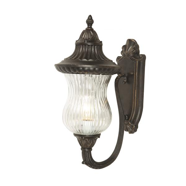 One Exterior Light - Oil Rubbed Bronze Finish - Style C