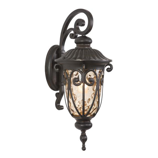 One Exterior Sconce - Oil-Rubbed Bronze  - Style B