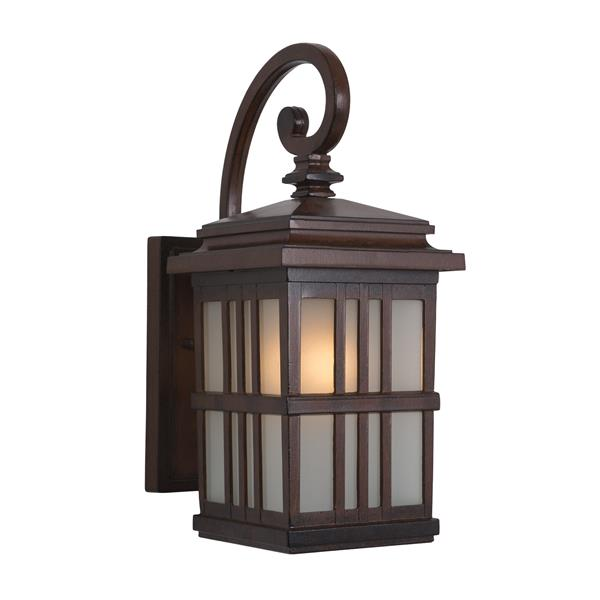 One Light Exterior - Brown