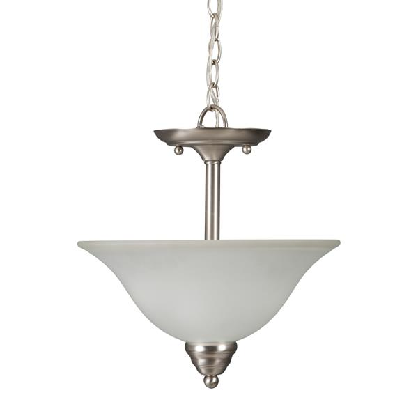 Inverted Pendant - Satin Nickel