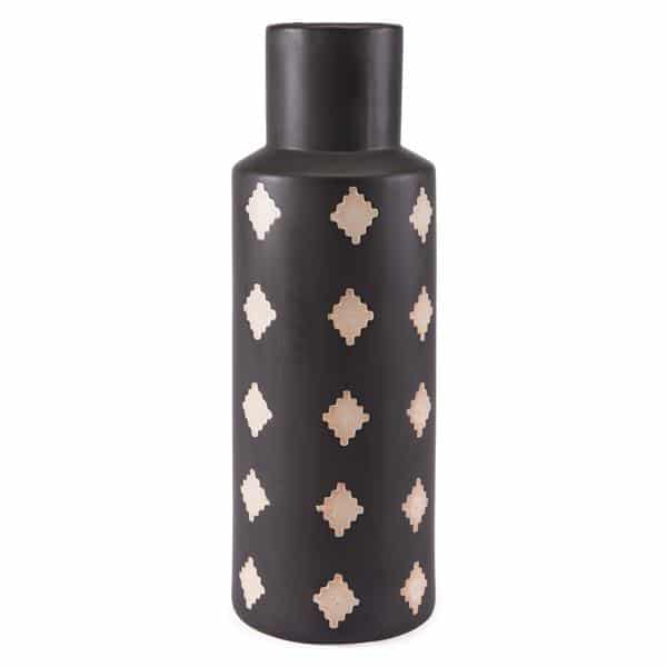 Pampa Bottle Large Black & Beige