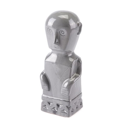 Maya Figurine Large Gray