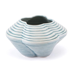 Twisted Small Vase Blue