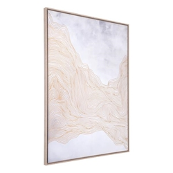 Gentle Canvas White & Gold