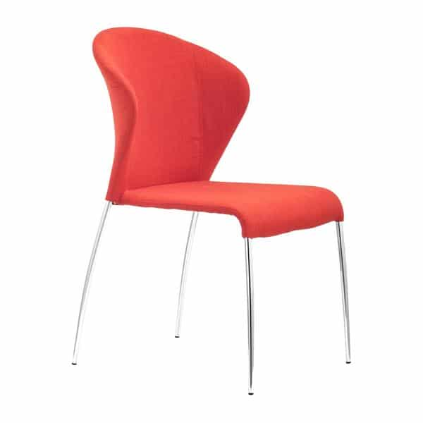 Oulu Dining Chair Tangerine - Set of 4