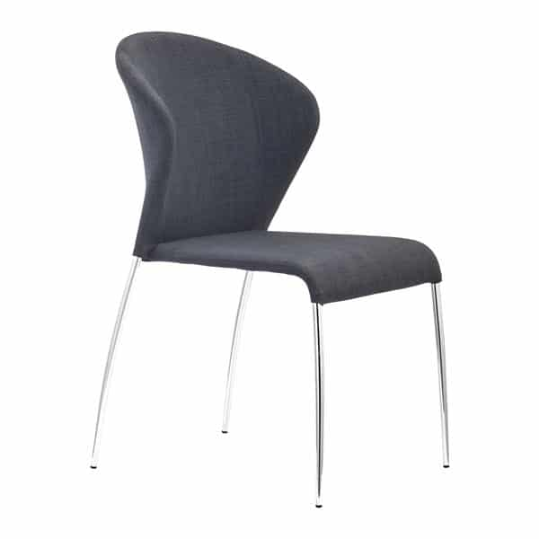 Oulu Dining Chair Graphite - Set of 4