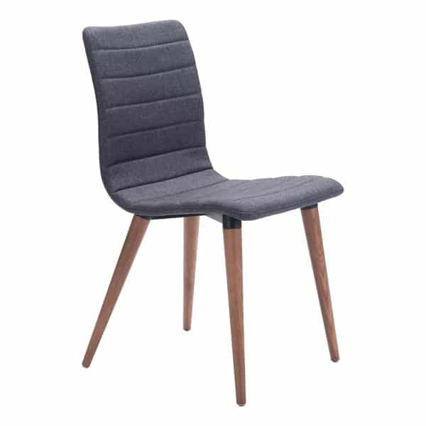 Jericho Dining Chair Gray - Set of 2