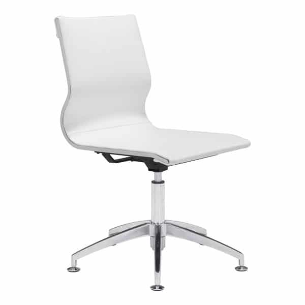 Glider Conference Chair White