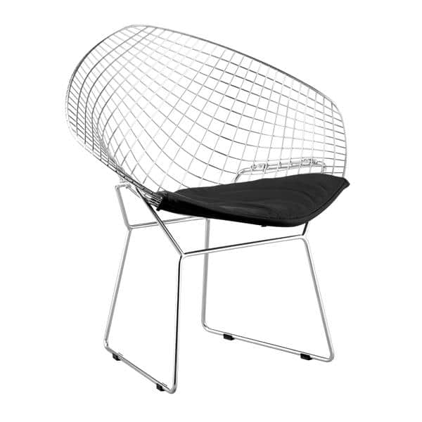 Net Dining Chair Black - Set of 2