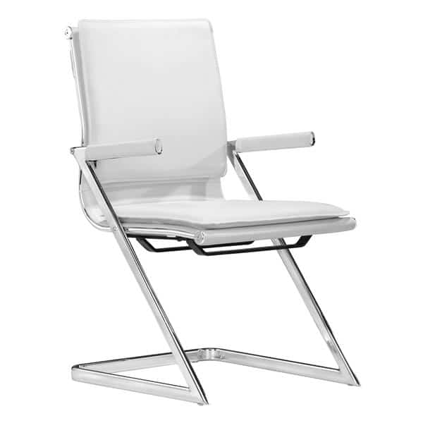 Lider Plus Conference Chair White - Set of 2