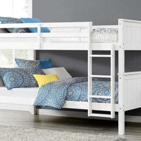 Twin over Twin Bunk Beds
